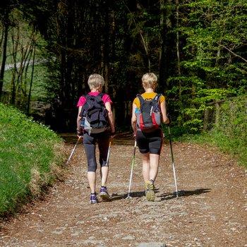 Procházky a nordic walking