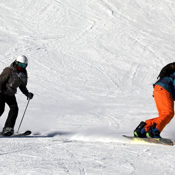 Lyže a snowboard