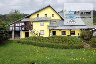 Prodej rodinného rekreačního zařízení  s vlastním lyžařským vlekem ve Vysoké u Malé Moravy, Ev.č.: 5023b