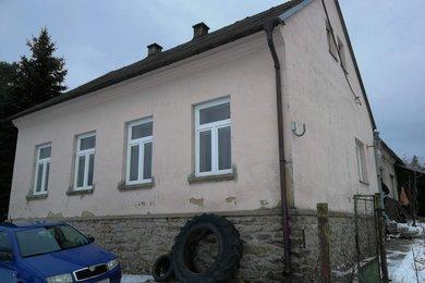 Prodej 1/2 dvojdomku ve Stříbrnicích, Ev.č.: 5055