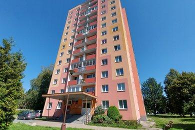 Prodej panelového bytu 1 + 3 v Šumperku na ulici Fibichova., Ev.č.: 5065