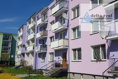 Prodej panelového bytu 1 + 2 v Bludově, Ev.č.: 1622