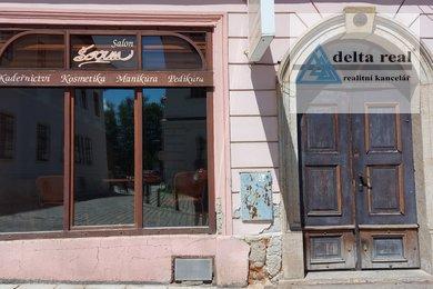 Pronájem kadeřnického a kosmetického salónu v centru Šumperka, Ev.č.: 1625a