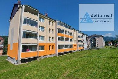 Prodej panelového bytu 1 + 2 v Loučné nad Desnou, Ev.č.: 1624