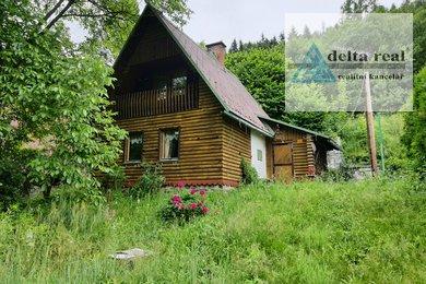 Prodej ideální 1/2 chaty v  Lužné u Hanušovic, Ev.č.: 5081