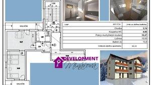 Prodej, Atypické byty, 2+kk - 53 m² -