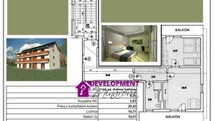 Prodej, Atypické byty, 61,3 m²