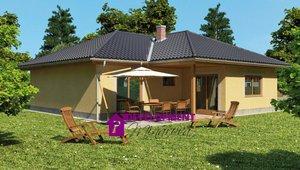 Dům na klíč - Jitka 4+kk, 139m²