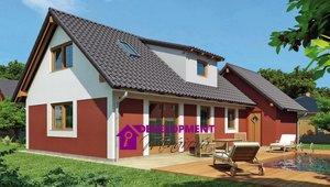 Dům na klíč - Marika 5+kk s garáží , 145m²