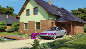 Dům na klíč - Karel 5+kk s garáží, 155m²