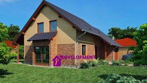 Dům na klíč - Marcela 5+kk s garáží, 154m² -