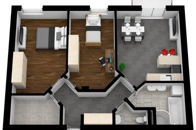Prodej, Byty 3+kk, 80m² -, Ev.č.: 00012