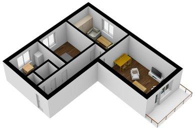 Prodej cihlového bytu 3+1 s možností přikoupení garáže u domu, Brno-Líšeň, Ev.č.: 00018