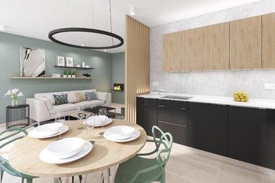 Byt 3+kk  s terasou 11,7 m2, parkovacím stáním ve dvoře domu a sklepní místností, v novostavbě bytového domu Přísnotice - Výhon, Ev.č.: DR1BD 30004R