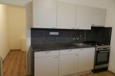 Pronájem částečně zařízeného bytu 1+1 se dvěma lodžiemi a zahradou u domu, Brno - Lesná, ul., Barvy, Ev.č.: DR2B 11271R
