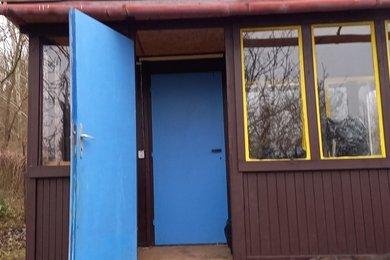 Pronájem zahrady s chatkou, CP 399 m2, na rozhraní kat. úz. Komín a Bystrce, Ev.č.: DR2Z 153R