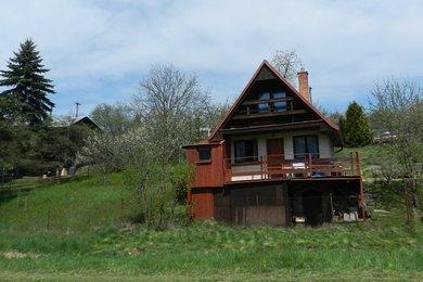 Prodej chaty se zahradou v chatařské oblasti Příbram na Moravě, Ev.č.: DR1CH 125R