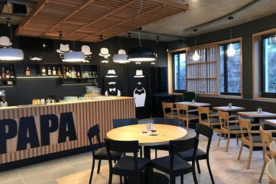 Pronájem nové, plně vybavené restaurace s vlastní zahrádkou, Brno - Bystrc, ul. Nad Přehradou, Ev.č.: DR2KR 137R