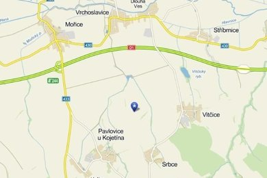 Prodej, Zemědělská půda, 1796m² - Srbce, Ev.č.: DR1P145R