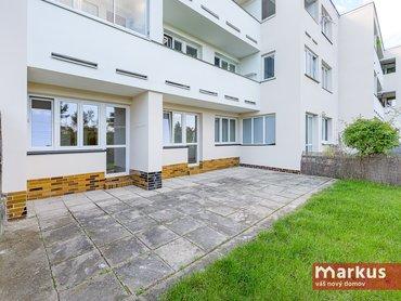 Pronájem bytu 2+1/57m²/ s terasou a zahrádkou,  Praha 6 - Břevnov