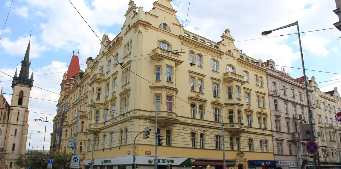 Restaurant, space for rent, st. Dukelských hrdinů, Prague 7 – Holešovice