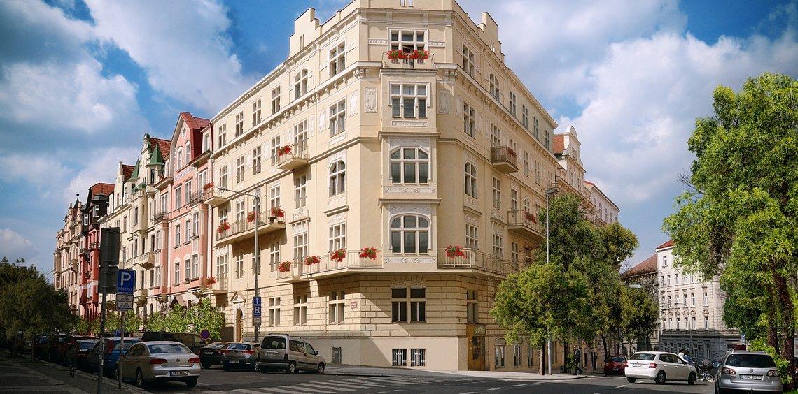 Flat 3kk for sale, 104,91 m2, Na Švihance - Vinohrady, Prague 2
