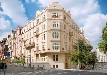 Flat 5kk for sale, 160,95 m2, with balcony. Na Švihance - Vinohrady, Prague 2