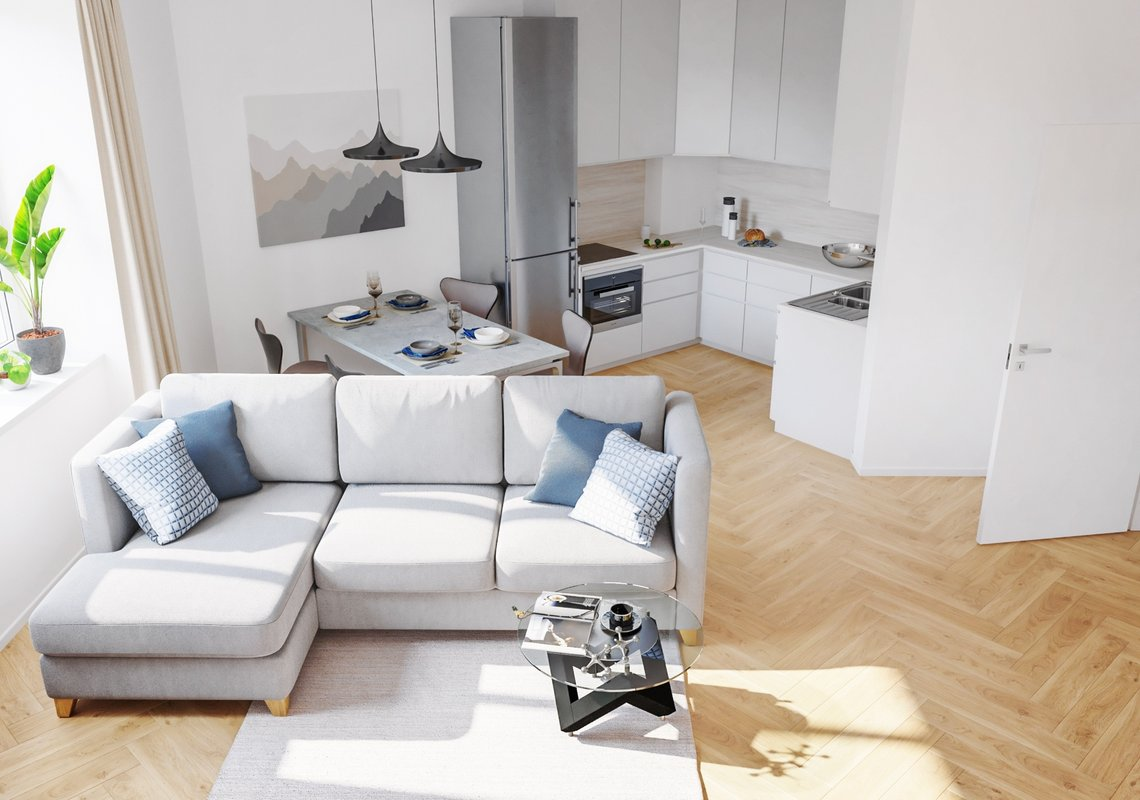 Продается квартира 3+1 с балконом, 88 м², ул. Londýnská 56