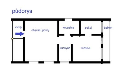 Pronájem, Rodinné domy, 3+1, 59 m² - Libušín, Ev.č.: 00112