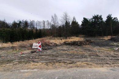 Prodej stavebního pozemku 1100 m² v obci Rynholec, okr. Rakovník, Ev.č.: 00181