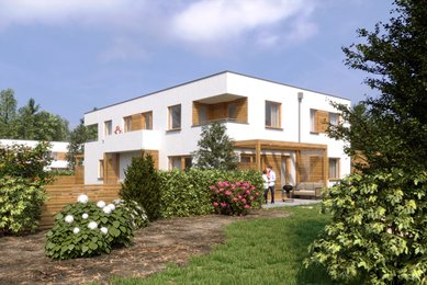 Prodej, Nízkoenergetický dům 5+kk, 118m² - Unhošť - Nouzov