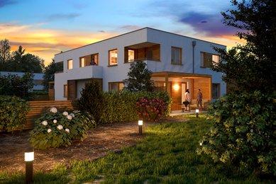 Prodej, Nízkoenergetický dům 4+kk, 105m² - Unhošť - Nouzov
