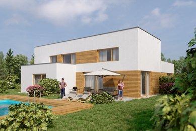 Prodej nízkoenergetického domu 5+kk, 174 m²- Unhošť - Nouzov
