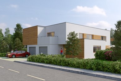 Prodej nízkoenergetického domu 5+kk, 168m² Unhošť - Nouzov