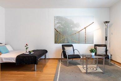 Prodej bytu 1+kk v Praha 8 - Troja