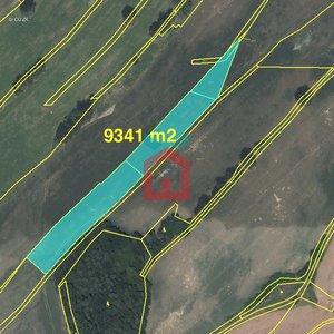 Prodej, Zemědělská půda, 9341m² - Vydří