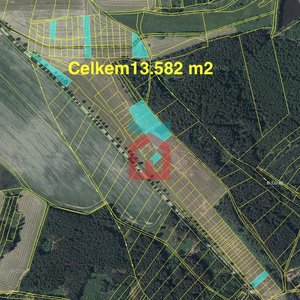 Prodej, Zemědělská půda, 13.582 m² - Budíškovice - Ostojkovice