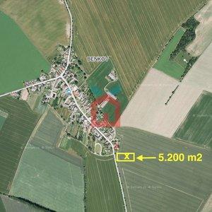 Prodej, Zemědělská půda, 5.200m² - Uničov - Benkov