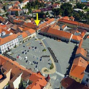 Prodej, zavedeného Hotelu, 1550 m² - náměstí Vodňany I