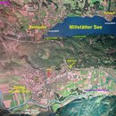 1 satelitni mapa mesta a okoli