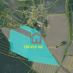 Prodej, Zemědělská půda, 120.0012 m² - Litoměřicko