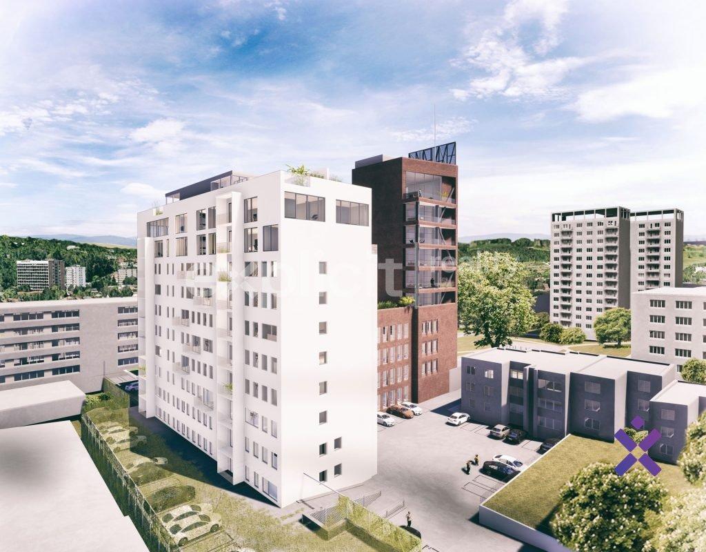 Prodej, Byty 2+kk, 65,7 m2 - Park Tower Zlín