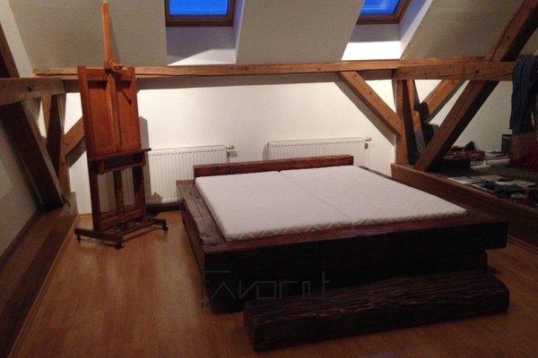 Pronájem podkrovního bytu 2+1, 80m², ulice Denisova, Olomouc