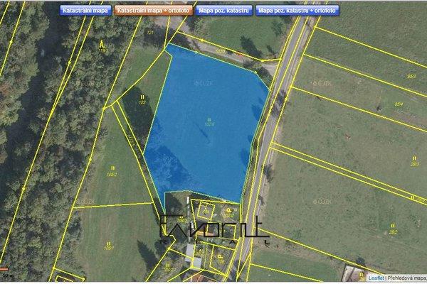 Pozemek pro bydlení, 4526 m², Raškovice