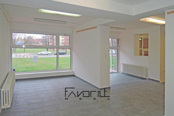 Pronájem Obchodní prostor, 140m², ulice Poděbradova, Ostrava - Moravská Ostrava