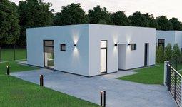 Prodej Novostavby 76 m² s pozemkem 753 m²- Pardubice Hostovice A9