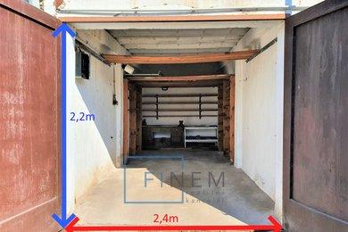 Pronájem garáže, 20m² - Kralupy nad Vltavou- Lobeček, Ev.č.: 00014
