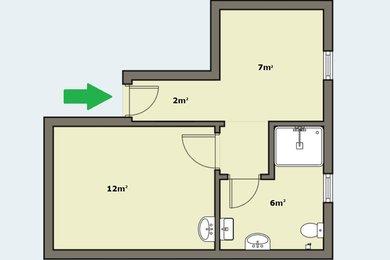 Nebyt. prostor k podnikání 27m² - Praha - Vysočany, Ev.č.: 00041