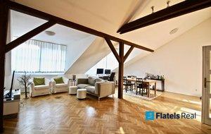 Pronájem bytu 3+1, 132m² - Praha - Smíchov, Malátova
