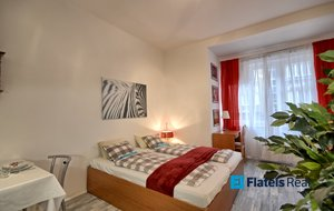 Pronájem bytu 1+kk, 27m² - Praha - Karlín - Křižíkova